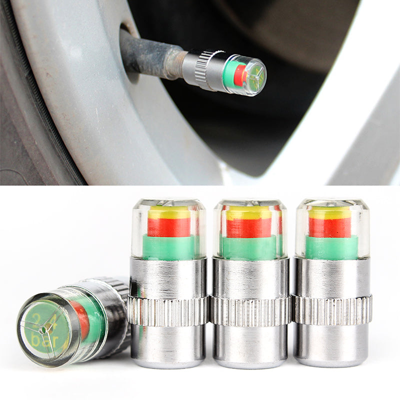 Tire Pressure Monitor Valve Stem Caps