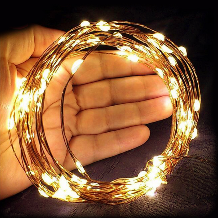 Magical Copper String Lights