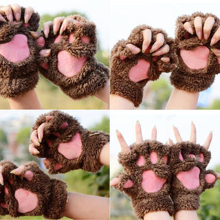 Fluffy Bear/Cat Plush Paws