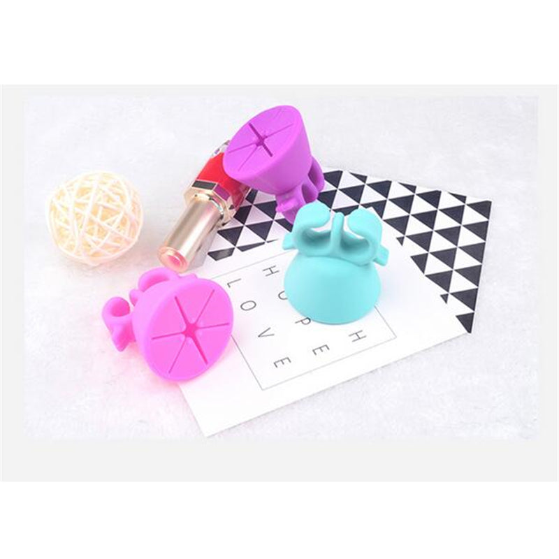 Silicone Nail Polish Holder Ring