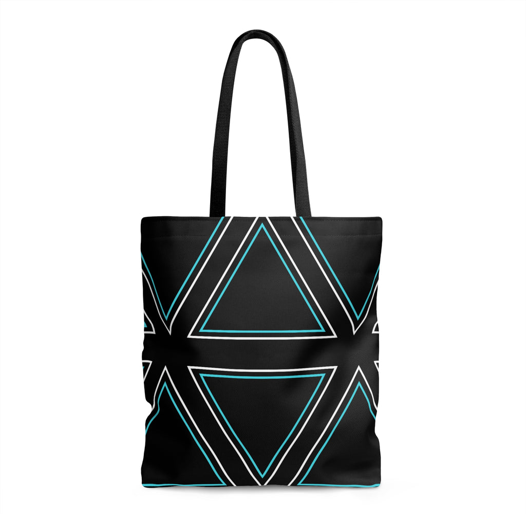 Try a Triangle -- Tote Bag (black)