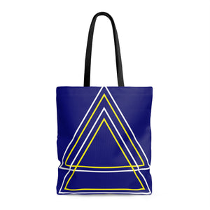 Back to the Future -- Tote Bag (blue)