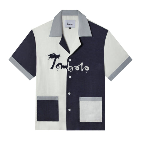 'Hello, My Name is Tombolo' Cabana (Linen)