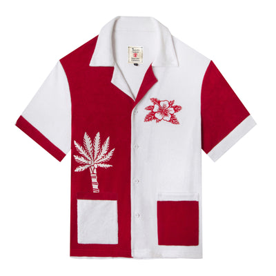 Tombolo x Save The Children collaboration shirt. Terrycloth. Supports COVID-19 relief.