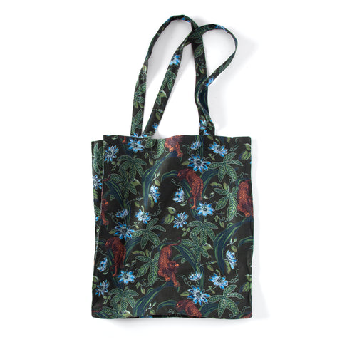 Lurking Jaguar - Tote Bag (Green)