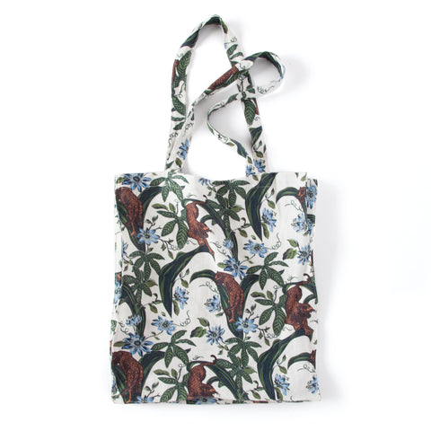 Lurking Jaguar - Tote Bag (White)