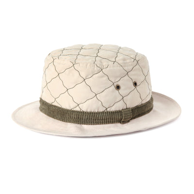 Quilted Bucket Hat (Sand)