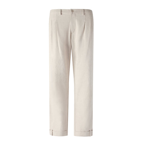 Traveler Pants (Natural Linen)