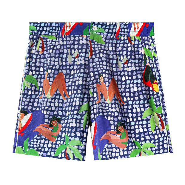Ana Leovy x Tombolo Shorts (Blue)