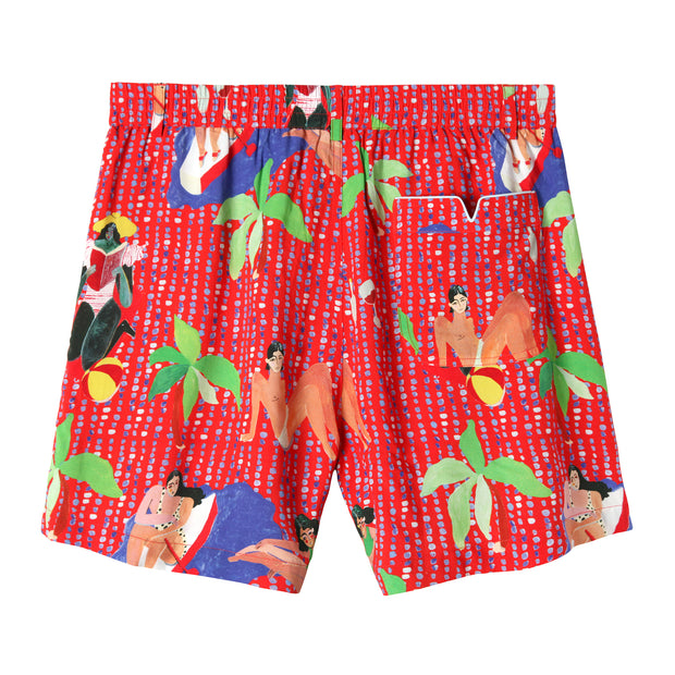Ana Leovy x Tombolo Shorts (Red)