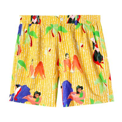 Ana Leovy x Tombolo Shorts (Yellow)