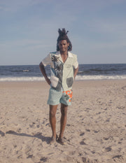 'Coast Lines' x Hôtel Magique ~ Swim Trunks