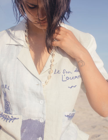 'Fishing Lines' Cabana x Hôtel Magique ~ Crop Cut