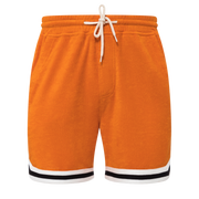 'Crouching Tiger, Hidden Beverage' Cabana Shorts (Orange)