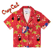 Ana Leovy x Tombolo ~ Crop Cut (Red)