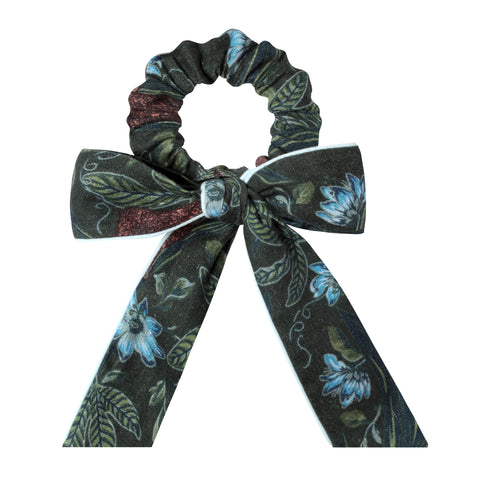 Lurking Jaguar - Scrunchie (Green)