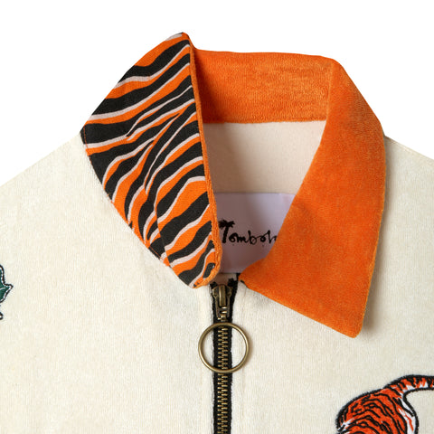 'Crouching Tiger, Hidden Beverage' Cabana Shirt