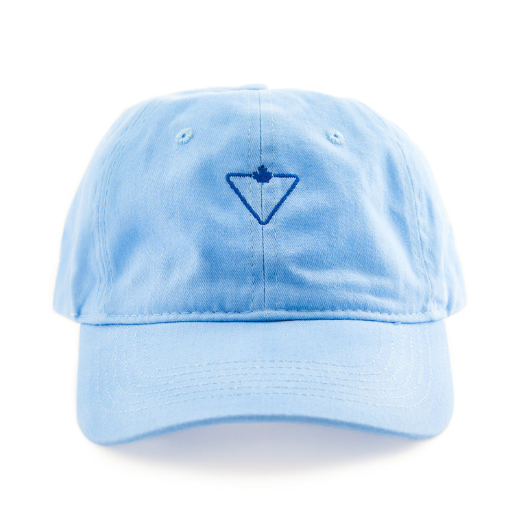 CT Core Collection Strapback Dad Hat - Washed Blue