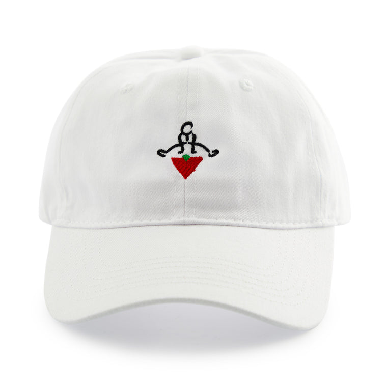 Jumpstart Strapback Dad Hat - White