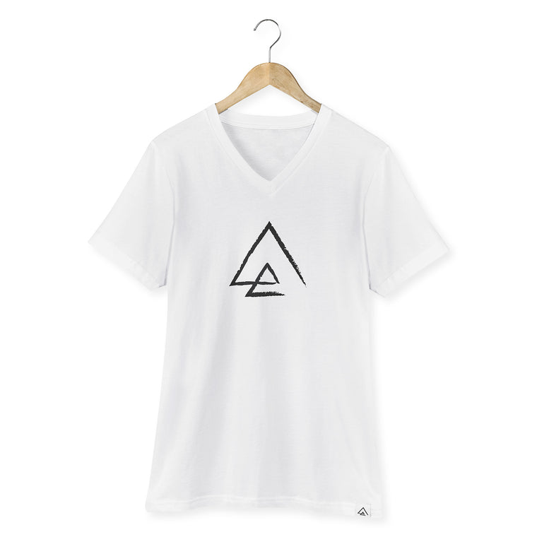 North Point Triangle Men V-Neck T-Shirt