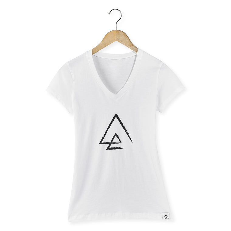 North Point Triangle Women V-Neck T-Shirt