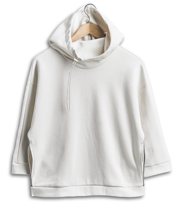 PUMA Tape Funnel Neck Crew Top