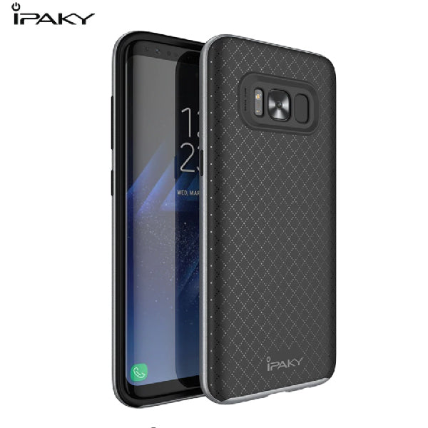 Samsung S8 Plus Genuine Electroplated Shockproof TPU Hybrid Case