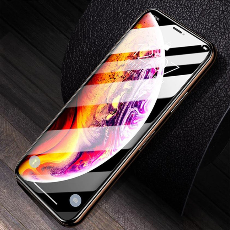 100% Original iPhone 11 Pro Max 5D Curved Tempered Glass Screen Protector