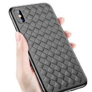 Apple iPhone XR Genuine Ultra Slim Weave Series Soft Case