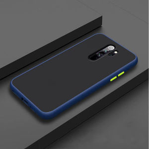 Redmi Note 8 Pro Luxurious Smoky Matte Shockproof Armour Case