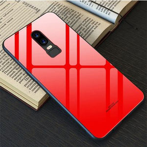 OnePlus 6 Toughened 5D Back Glass Wireless Edition Ultra Slim Case