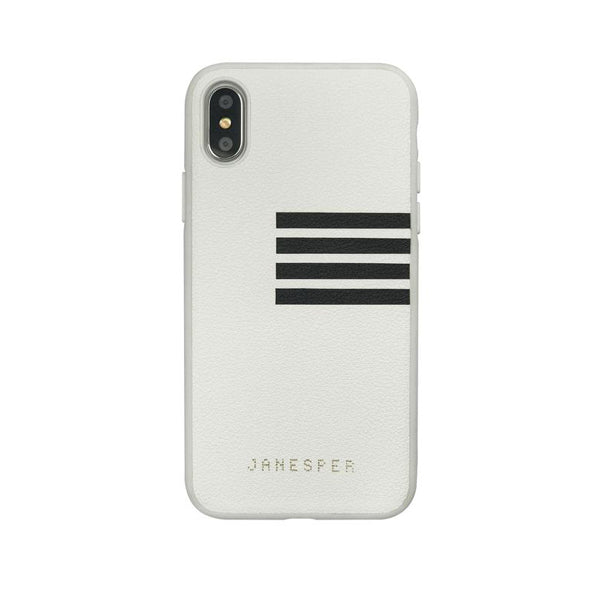 Apple iPhone X/Xs Janesper Captain Series Premium Leather PU Hard Case