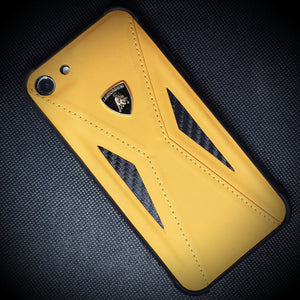 Apple iPhone 6/6S Lamborghini® Limited Edition Carbon Fibre Leather Hard Case