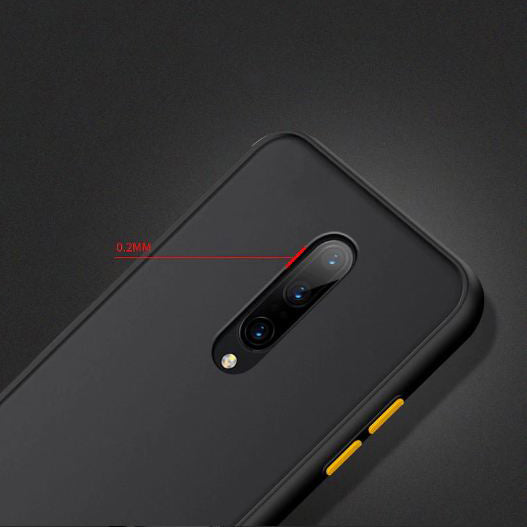 OnePlus 7 Luxurious Smoky Matte Shockproof Armour Case