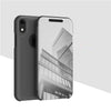 Apple iPhone XR Clear View Dynamic Standing Mirror Flip Cover (Non Sensor Working) (with Free 5D Tempered Glass)