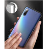 VIVO S1 Ultra Slim Premium Frameless Transparent Hard Case (with Free Metal Ring)