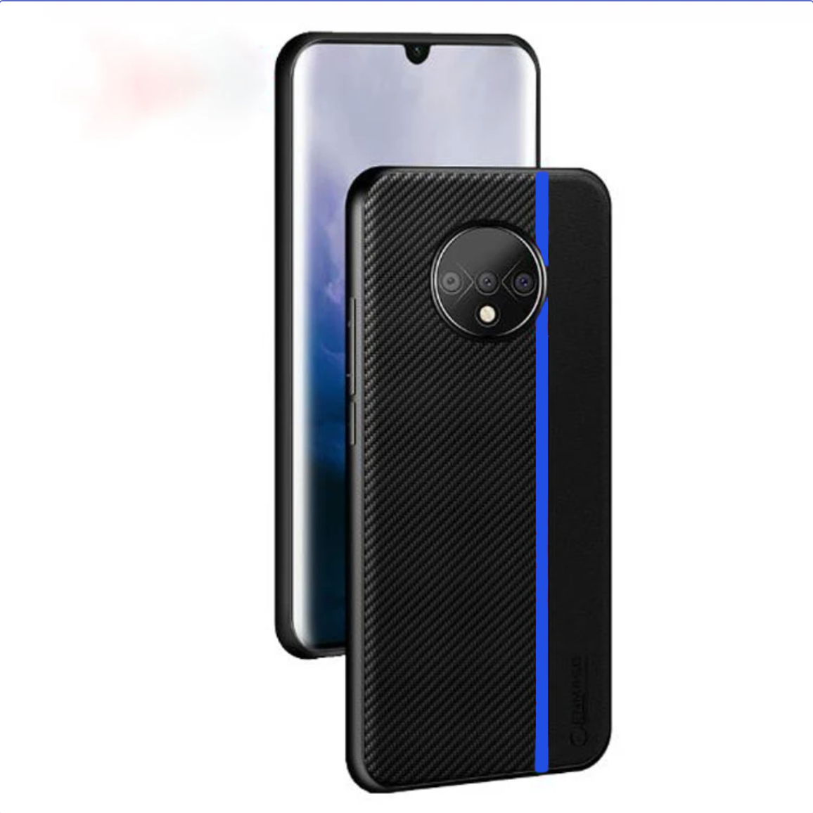 OnePlus 7T Genuine Carbon Fiber Protective Shock Proof Ultra-thin Case