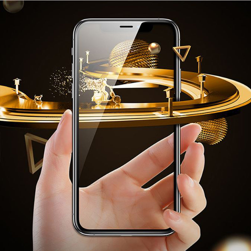 100% Original iPhone 11 5D Curved Tempered Glass Screen Protector