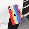 Apple iPhone 11 Rainbow Series Genuine Liquid Silicone Logo Case
