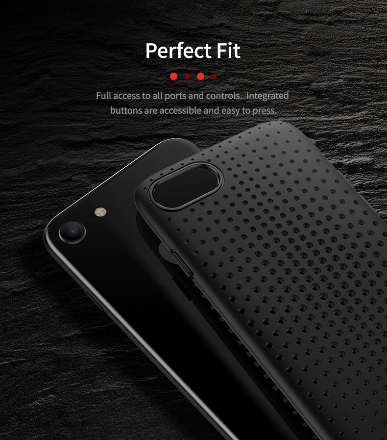 Apple iPhone 7 & iPhone 8 Rock Ultra Slim Breathable Dot Series Flexible Case