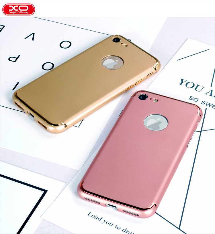 Apple iPhone 7 Plus & iPhone 8 Plus Genuine XO Gold Plated Hard Back