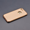 Apple iPhone 7 Plus & 8 Plus Luxurious Electroplated 3 in 1 Hard Protective Case