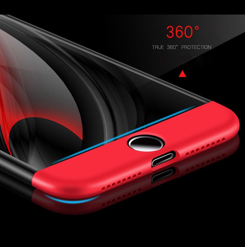 f854f803f Apple iPhone 7 & iPhone 8 360 Degrees Ultra Slim Protective Hard Case