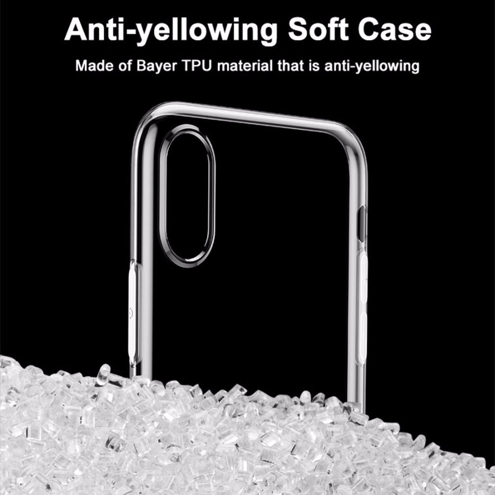Apple iPhone X/Xs Baseus Soft Silicone Ultra Slim Back Cover (Simple Series)