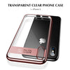 Apple iPhone X/Xs Ultra Slim Electroplated Transparent AutoFocus Hard Back