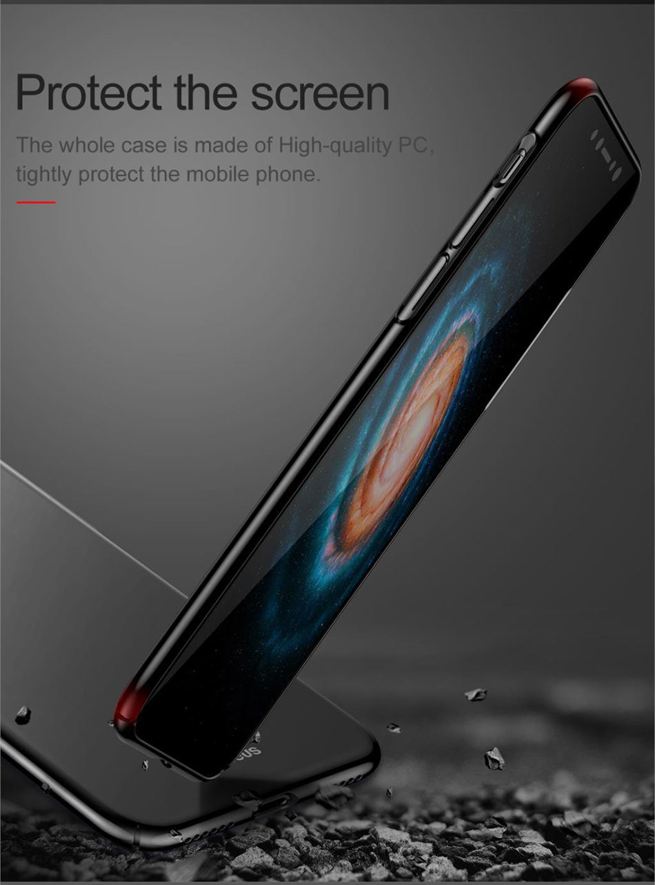 Apple iPhone X Baseus Luxury Phone Case Ultra Thin Slim Back Cover