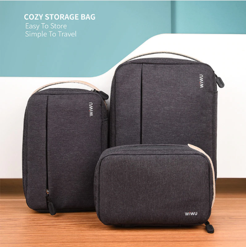 Cozy Storage Bag Easy to Store simple to travel By WiWU