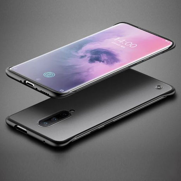 Oppo F11 Pro Ultra Slim Premium Frameless Transparent Hard Case (With Free Metal Ring)
