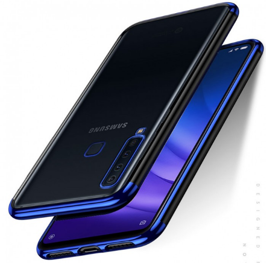 Ultra Thin Transparent Luxurious Glitter Hard Case for Samsung Galaxy A9 (2018)