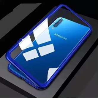 Samsung Galaxy A9 (2018) Magnetic Auto-Fit 360 Degrees Armoured Case